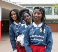 Villeneuve la GarenneFoot feminin-college Pompidou16/04/2019