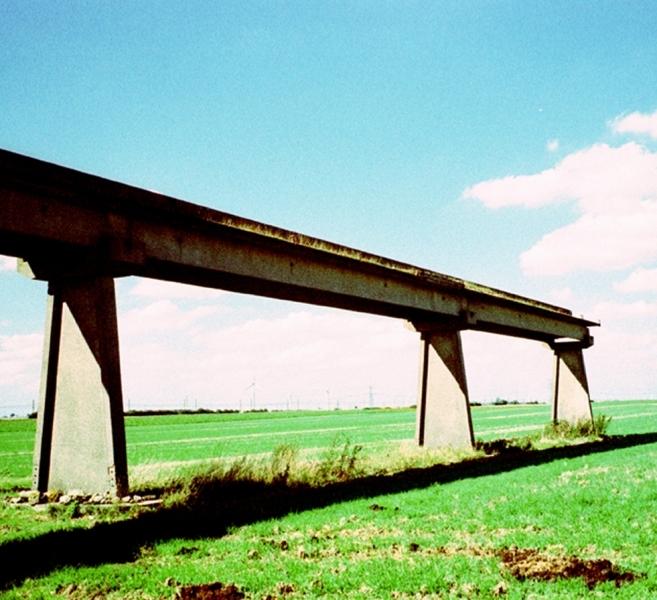 Les restes du monorail
